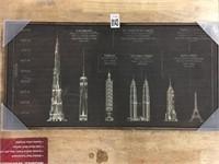 HOMETRENDS WALL DÉCOR WORLD'S TALLEST BUILDING