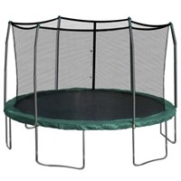 15 FOOT ROUND TRAMPOLINE WITH ENCLOSURE COMBO