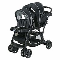 GRACO STAND AND RIDE DOUBLE STROLLER
