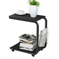 SOGES HOME MOBILE END TABLE COFFEE (NOT ASSEMBLED)