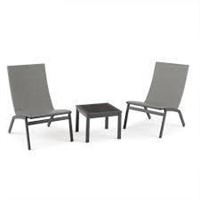MAINSTAYS SIESTA CHAT SET (NOT ASSEMBLED)
