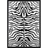 "HOME VALUE ZEBRA PRINT BY NULOOM 5'3""X7'9"""