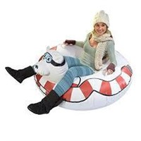 GOFLOATS WINTER SNOW TUBE INFLATABLE SLED
