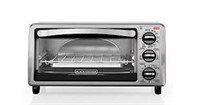 BLACK DECKER TOASTER OVEN (SOLD AS IS)(NO RETURNS)