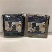 "ROYAL ELEGANCE 2 PCS RECLINER PROTECTOR, 80"" X 70"""