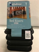 SET OF 4 BED RISERS