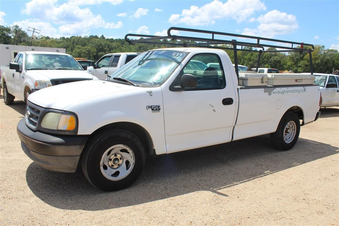 Truck Pipe Rack >> 2002 Ford F150 For Sale In Livingston Louisiana