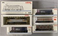 5pc Marklin HO French Container Train