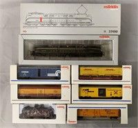 7pc Marklin HO American PRR Freight Train