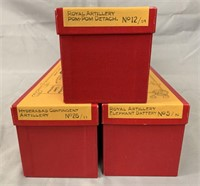 3 Boxed Hocker Soldier Sets