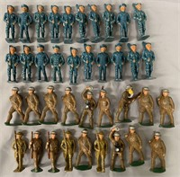 48 Dime-Store Soldiers