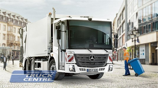 Mercedes Benz Econic 2635 6x4