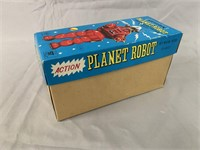 Action Planet Robot. Wind Up Boxed.