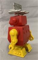 Wind Up Radar Robot. In Box.