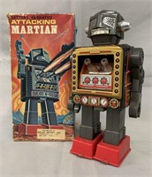Attacking Martian. Smaller Size in Box.