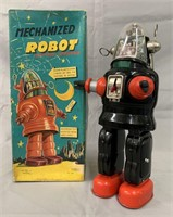 Mechanized Robot Battery Operated. Boxed.