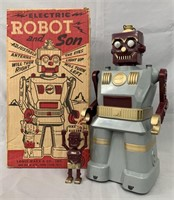 Marx Electric Robot & Son Boxed.