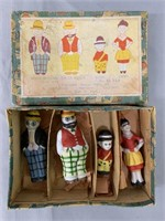Moon Mullins Bisque Comic Character Figure Set