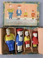 Smitty Bisque Comic Character Figure Set