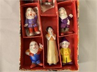 Snow White Bisque Comic Character Figure Set