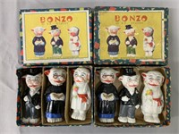 (2) Bonzo Bisque Comic Character Figure Sets