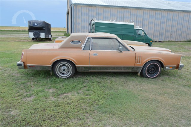 Auctiontime Com 1980 Ford Continental Mark Vi Online Auctions