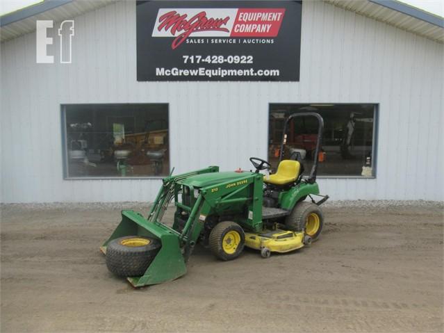 John Deere 2210 Compact Tractor W