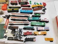 Large Vintage HO & N Train Sets With Accessories