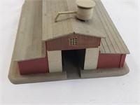 Budweiser Barn Toy Train Building Figurine N