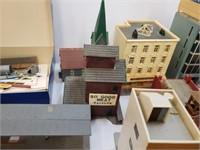Huge City Building Set And Accessories N Gauge