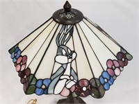 Looney Tunes Stained Glass Table Lamp