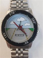 1996 Joe Boxer Airplane Wrist Watch