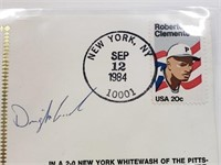 1984 Dwight Gooden Signed First Day Issue Envelope