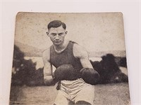 1923 Benny Leondard Boxing Exhibit Post Card