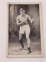 1921 Frank Klause Boxing Exhibit Post Card