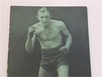 1927 Matt Adgie Boxing Exhibit Post Card
