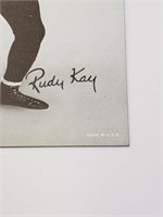 George Drake, Rudy Kay Wrestling Exhibit Card