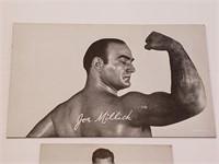 Joe Millich, Bill Parks Wrestling Exhibit Card