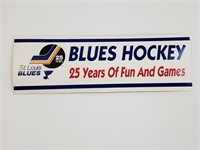 Saint Louis Blues 25 Years Bumper Stickers