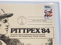 1984 Roberto Clemente First Day Issue