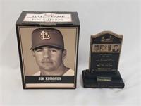 Jim Edmonds Hall Of Fame Statue  SGA
