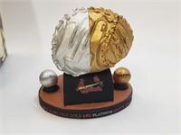 Yadier Molina Gold/Platinum Glove Award Statue SGA