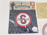Stan Musial Cardinals Misc Pins Patches