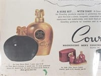 1948 Babe Ruth Courtley Mens Shaving Advertisment