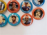 (14) 1984 Misc. Baseball Pins