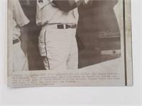 1968 Red Schoendienst Press Release Photograph