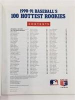 1990-91 Score Baseball's 100 Hottest Rookies Book