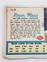 1962 Roger Maris Post Card #6