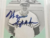 Warren Spahn Signed Promo Card