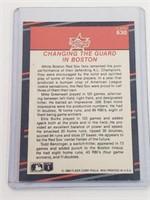 1988 Greenwell,Burks,Benzinger Signed Card #630